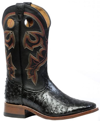 Men's Boulet Smooth Ostrich Wide Sqaure Toe Boot 4505