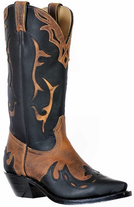 Ladies Boulet Snip Toe Cowboy Boot 9611