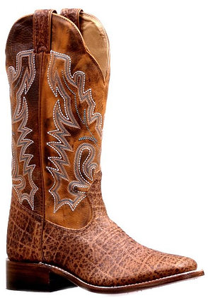 Ladies Boulet Wide Square Toe Cowgirl Boot 7014