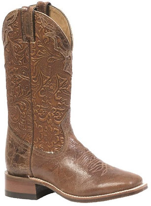 Ladies Boulet Wide Square Toe Cowgirl Boots 2106