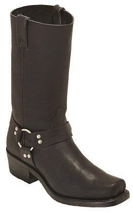 Men's Boulet Motorcycle Broad Square Toe Boot 0017