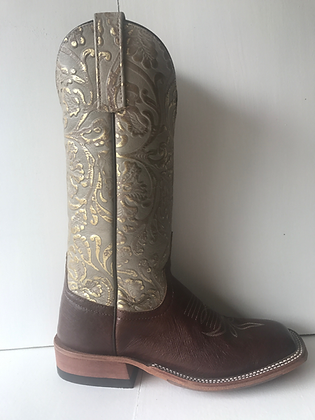 Ladies Anderson Bean Smooth Ostrich Cowgirl Boot 4800M