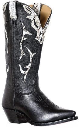 Ladies Boulet Snip Toe Cowboy Boot 9617