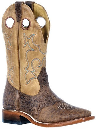 Ladies Boulet Wide Square Toe Cowboy Boot 9322