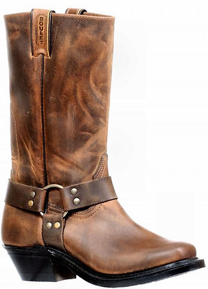 Ladies Boulet Vagabond Toe Motorcycle Boot 8220