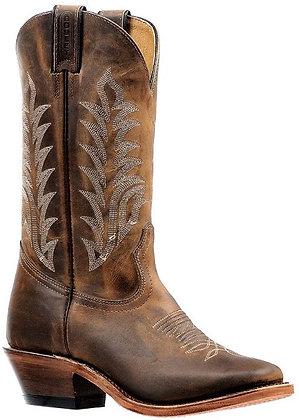 Ladies Boulet Vintage Sqaure Toe Cowgirl Boot 6373