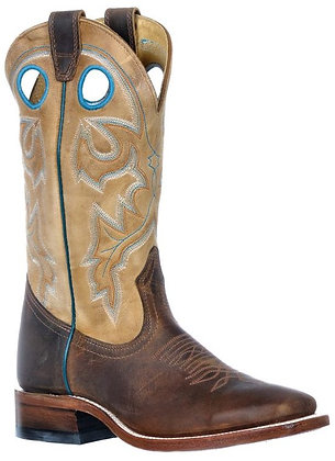 Ladies Boulet Wide Square Toe Cowboy Boot 9320