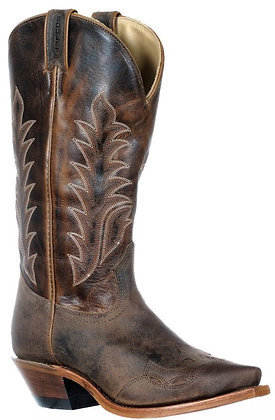 Ladies Boulet Snip Toe Cowboy Boot 9601