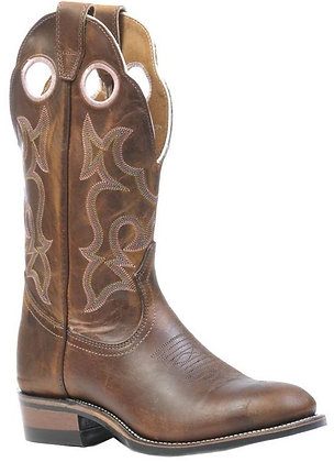 Ladies Boulet Super Roper Full Round Toe Cowgirl Boots 0297