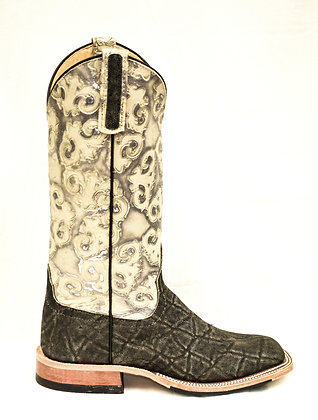 Ladies Anderson Bean Safari Elephant Cowgirl Boot 9540A
