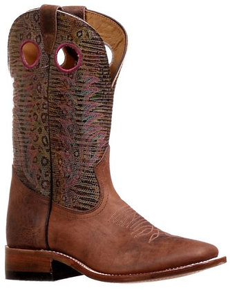 Ladies Boulet Challenger Wide Square Toe Boot 7726