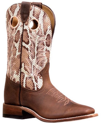 Ladies Boulet Challenger Wide Square Toe Boot 7718