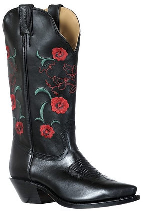 Ladies Boulet Snip Toe Cowboy Boot 9386
