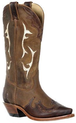Ladies Boulet Snip Toe Cowboy Boot 9614