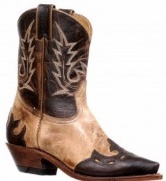 Ladies Boulet Snip Toe Cowgirl Boot 8615