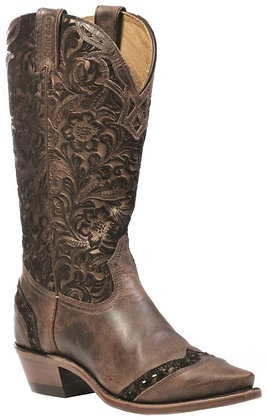 Ladies Boulet Snip Toe Cowgirl Boot 1655
