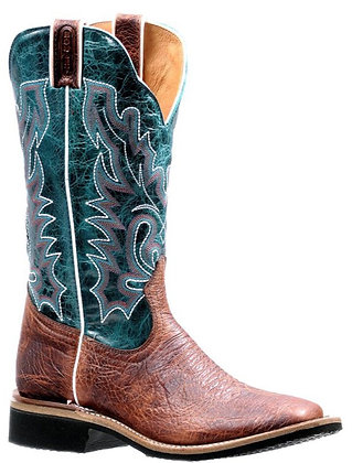 Ladies Boulet Wide Square Toe Cowgirl Boot 7266