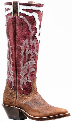 Ladies Boulet Wide Square Toe Cowgirl Boot 6337