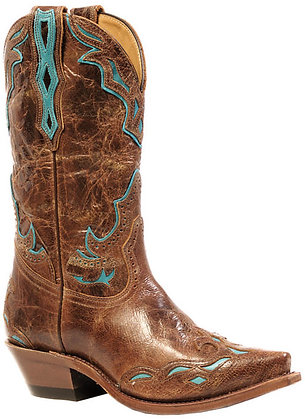 Ladies Boulet Snip Toe Cowgirl Boot 4622