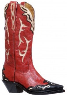 Ladies Boulet Snip Toe Cowgirl Boot 8614