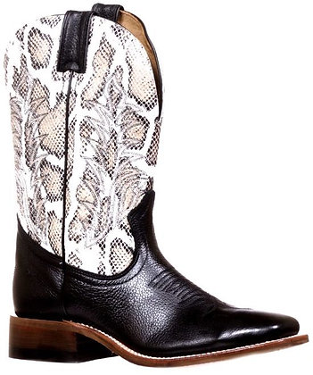 Ladies Boulet Challenger Wide Square Toe Boot 7720