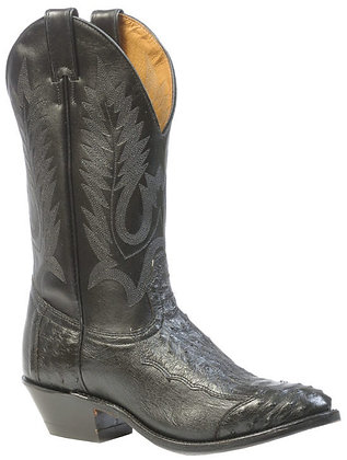 Men's Boulet 4 Piece Smooth Ostrich Medium Cowboy Toe Boot 1513