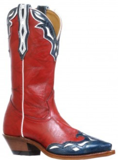 Ladies Boulet Snip Toe Cowgirl Boot 8600