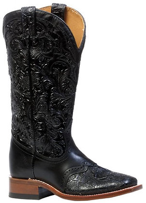 Ladies Boulet Wide Square Toe Cowgirl Boot 4311