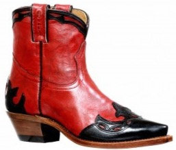 Ladies Boulet Snip Toe Cowgirl Boot 8605