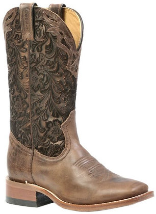 Ladies Boulet Wide Square Toe Cowgirl Boots 1135