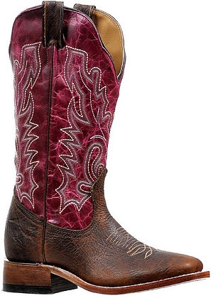 Ladies Boulet Wide Square Toe Cowgirl Boot 6251