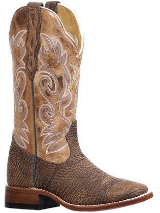 Ladies Boulet Wide Square Toe Cowgirl Boot 8261
