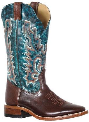 Ladies Boulet Wide Square Toe Cowboy Boot 9362