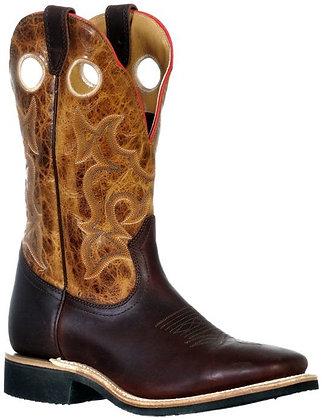 Men's Boulet Wide Square Toe Cowboy Boot 9348