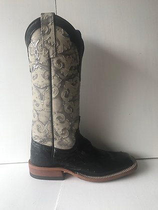 Ladies Anderson Bean Ostrich Cowgirl Boot 7420A