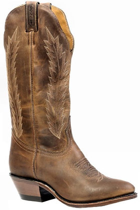 Ladies Medium Cowboy Toe Cowgirl Boots 9026