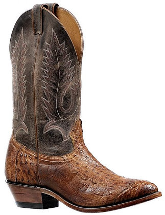 Men's Boulet 4 Piece Smooth Ostrich Medium Cowboy Toe Boot 6553