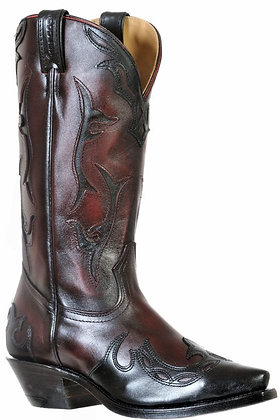 Ladies Boulet Snip Toe Cowboy Boot 9603