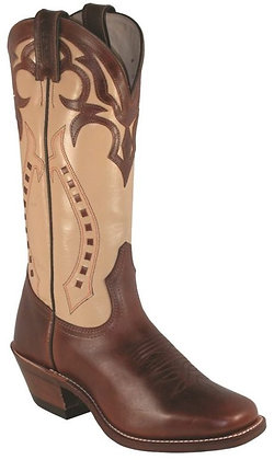 Ladies Boulet Vintage Square Toe Cowgirl Boots 4123
