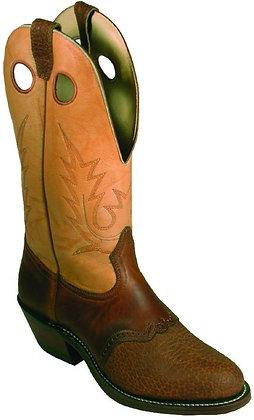 Mens Boulet Buckaroo Round Toe Cowboy Boots 2175