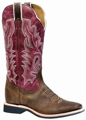 Ladies Boulet Wide Square Toe Cowboy Boot 4749