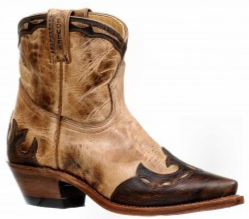 Ladies Boulet Snip Toe Cowgirl Boot 8604