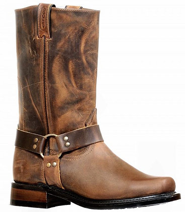 Men's Boulet Broad Square Toe Motorcycle Boot 8222