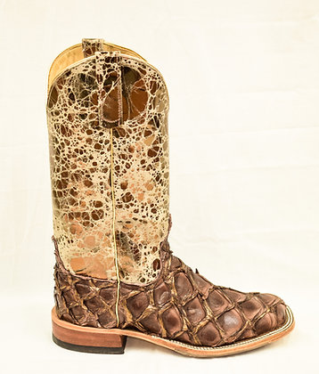 Ladies Anderson Bean Bronze Big Bass Cowgirl Boots 323698