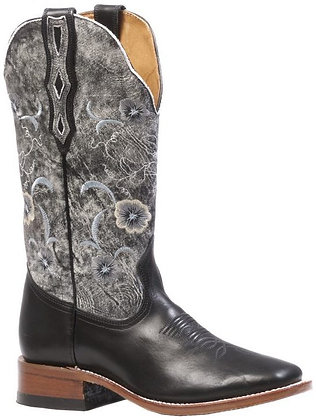 Ladies Boulet Wide Square Toe Cowgirl Boot 4190