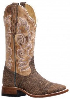Ladies Boulet Wide Square Toe Cowgirl Boot 8302