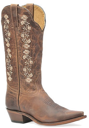 Ladies Boulet Snip Toe Rugged Country Boot 0821