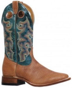 Men's Boulet Wide Square Toe Cowboy Boot 8264