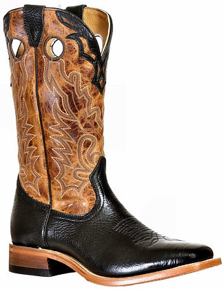 Men's Boulet Wide Square Toe Cowboy Boot 9391