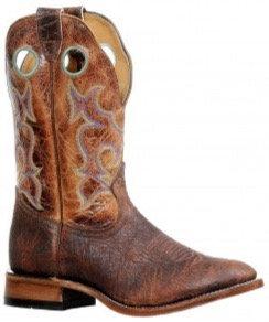 Men's Boulet Full Round Toe Cowboy Boot 8536